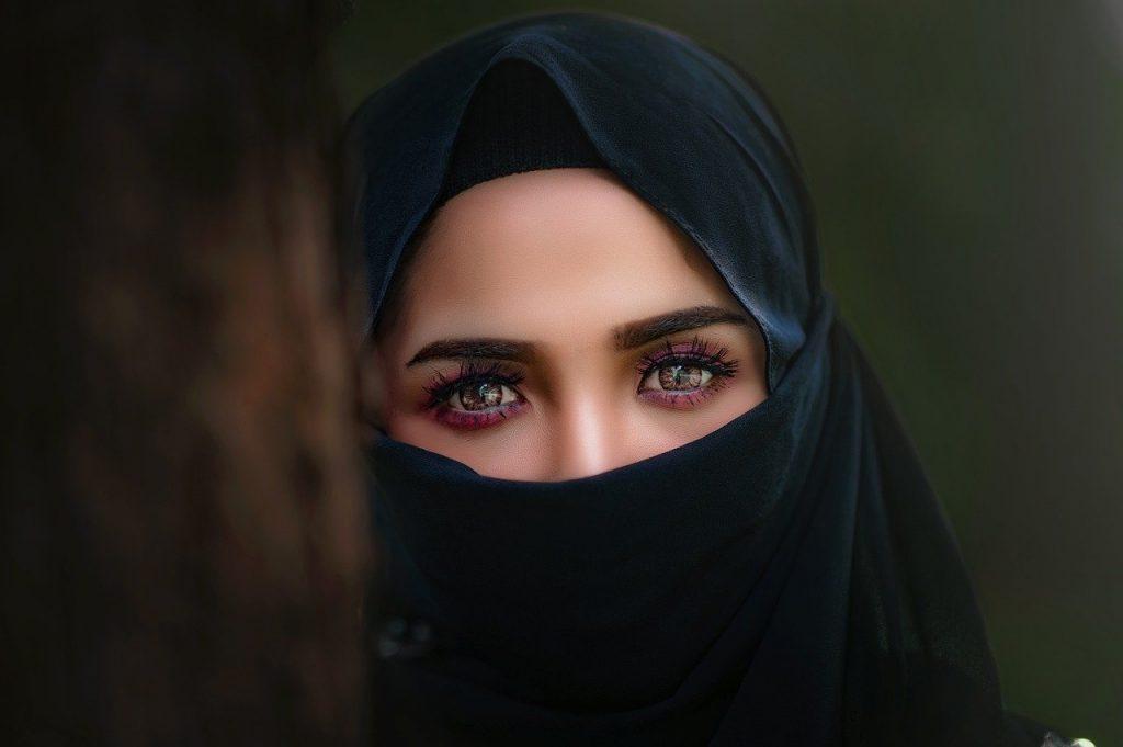 Woman in a hijab
