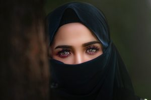 Woman in a hijab